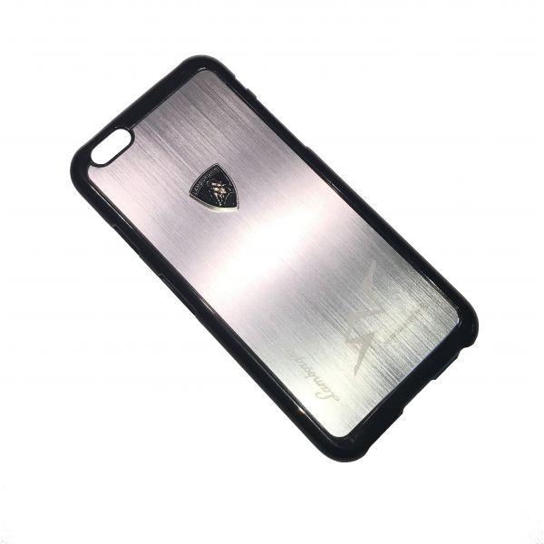 Kovový obal ZHO Lamborghini pro Apple iPhone 6 a 6S - Stříbrná ... 842e4c76a0e
