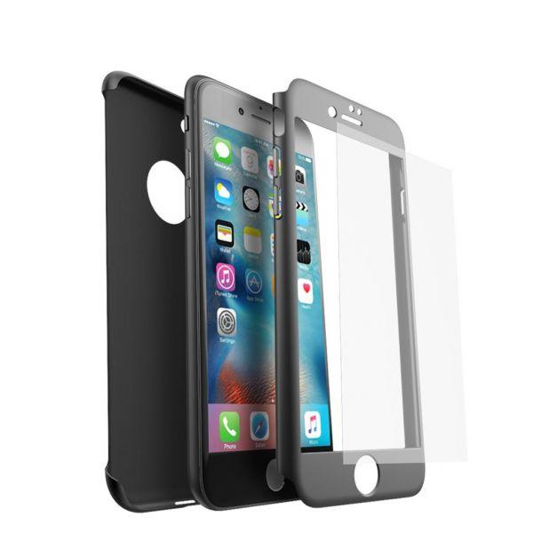 ... iPaky 360 černý obal pro Apple iPhone 7   8 ... d415442c2d8